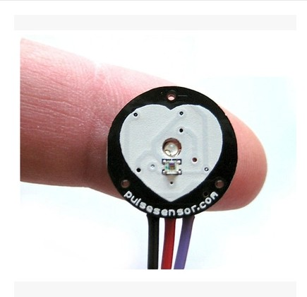 Pulsesensor pulse rate sensor with a biometric sensor