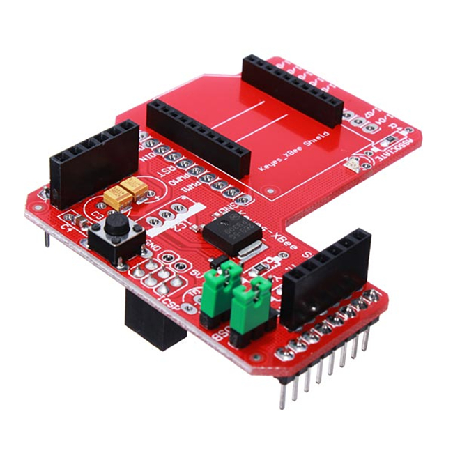 XBee Zigbee Shield Wireless Data Transmission Module Extension Board pcDuino Robot Chassis Pedophilic Crawler Intelligent Tank
