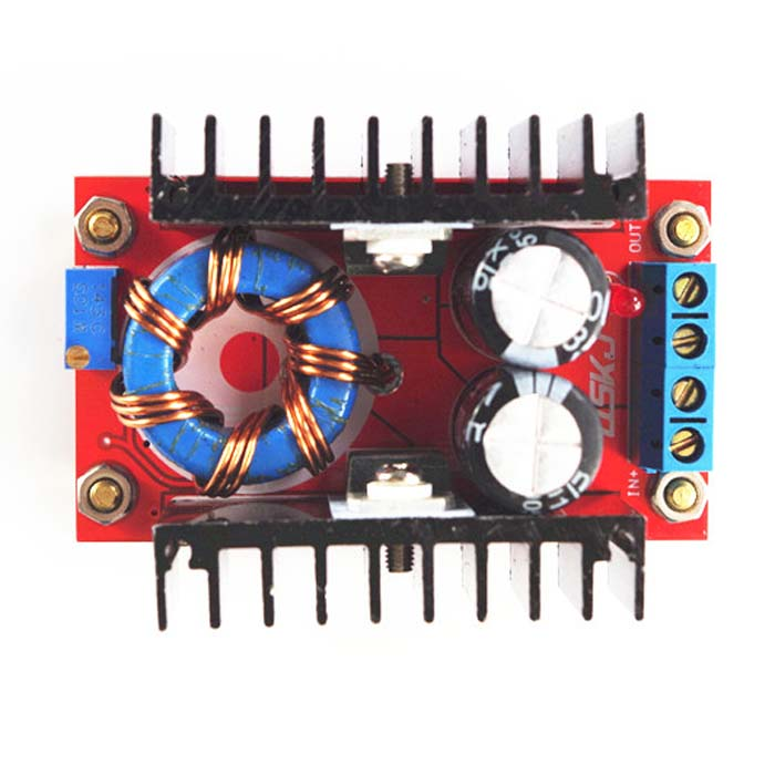 150W boost module DC-DC on board notebook mobile power supply 12-32V to 12-35V adjustable (C6A1)