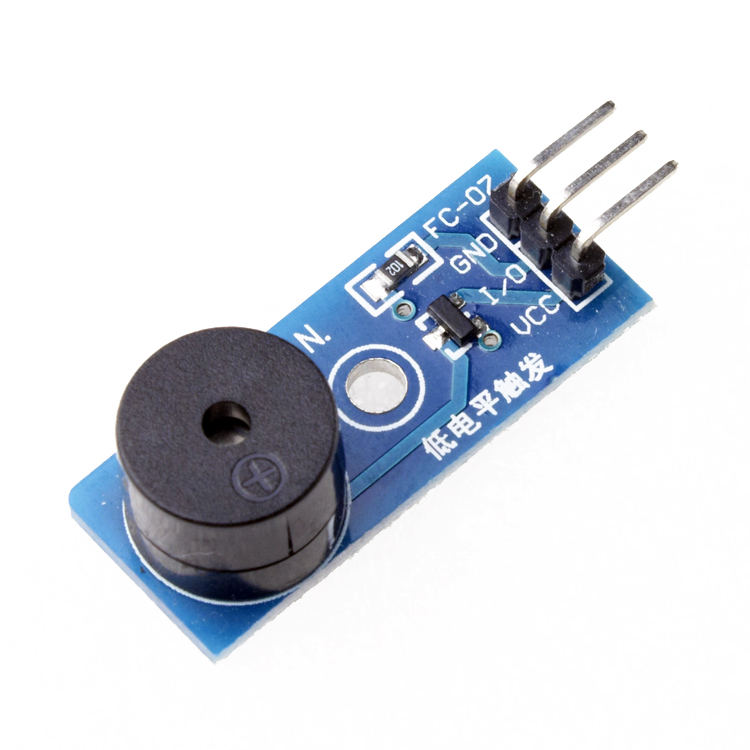Low level trigger buzzer control board for passive buzzer module