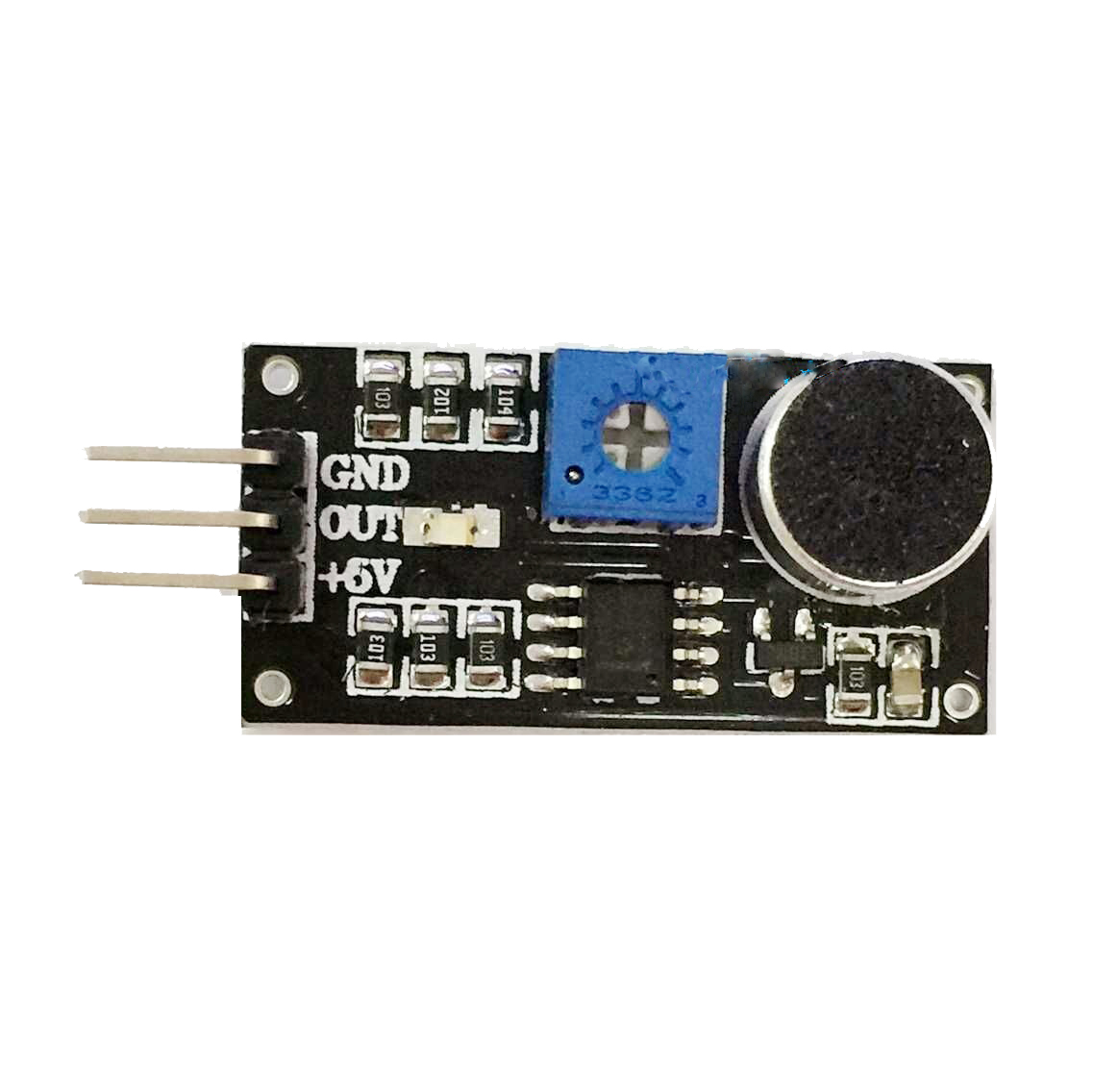 Sound Detection Sensor Module Arduino Smart Car Tank