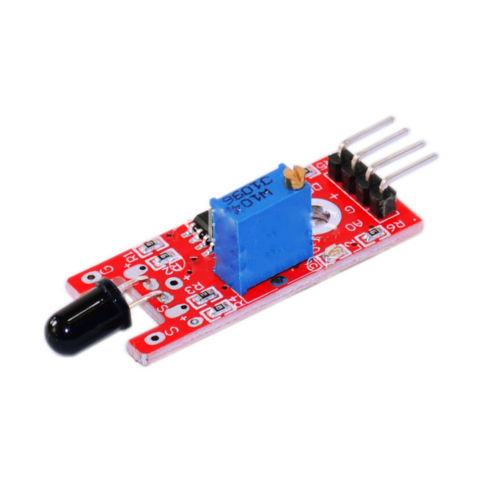 Smart Family Home Easy Fire Flame Sensor Module KY-026 Arduino