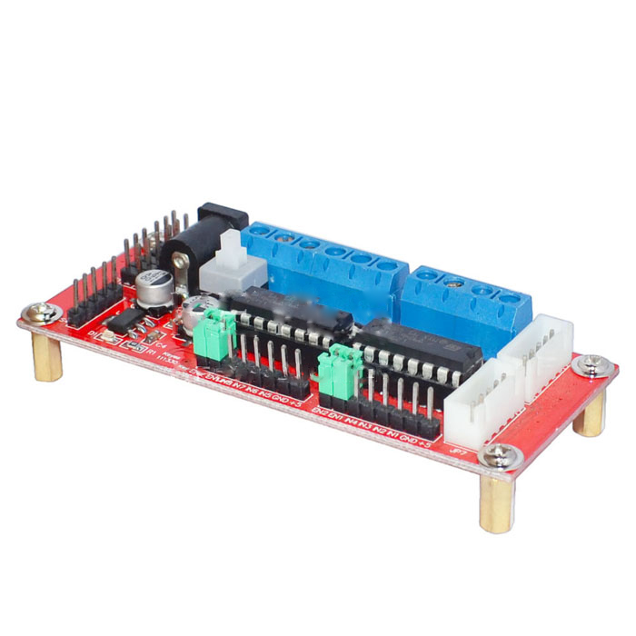 DC Motor Driving Module 4/4WD Buggy/L293D Arduino Intelligent Robot Chassis