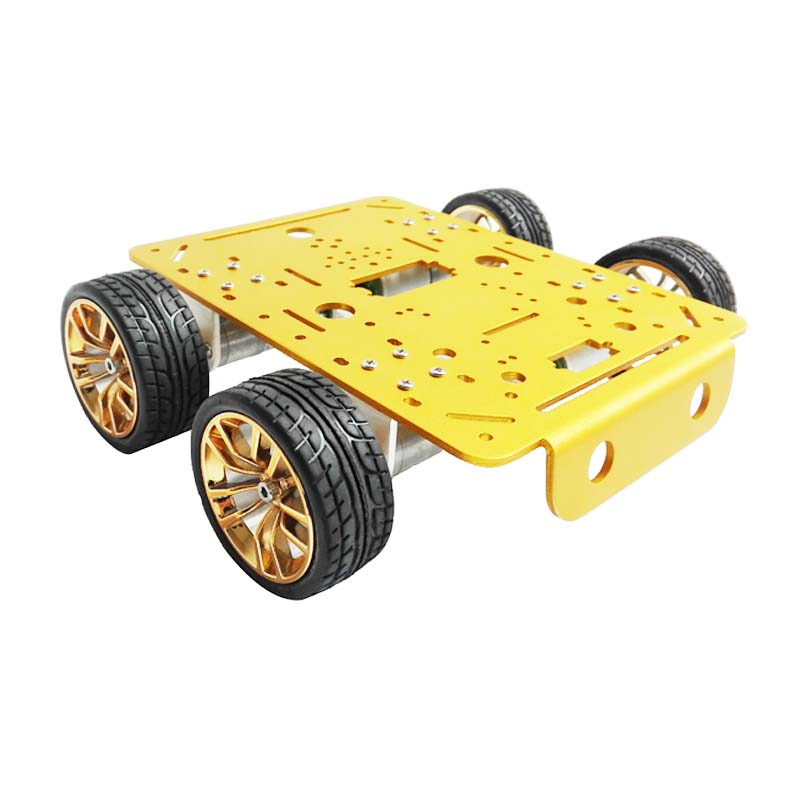 C300 Aluminum Alloy Metal 4wd Wheel Car Chassis