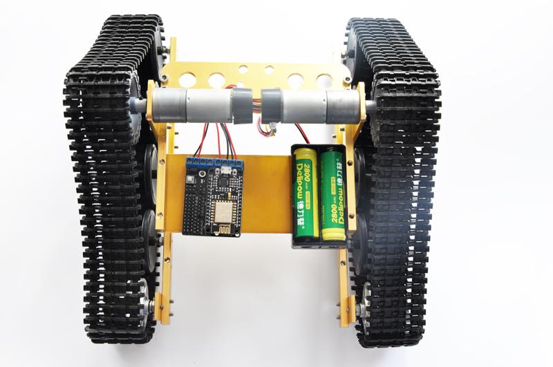 Free Source Wireless WiFi Phone Remote Control Tank Track Car
