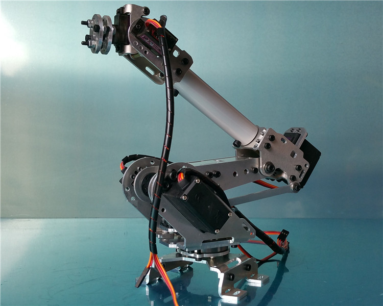 Abb Industrial Robot Model Mechanical Arm Manipulator 6 DOF Manipulator 6 Axis Robot with Servo