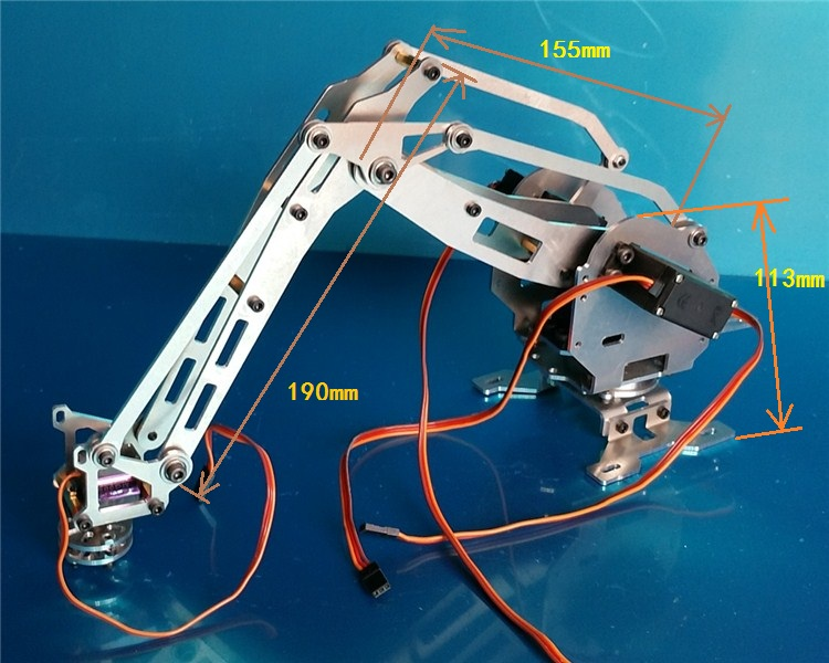6 Dof Manipulator Abb Industrial Robot Model  Robot Mechanical Arm Manipulator  6 Axis Robot