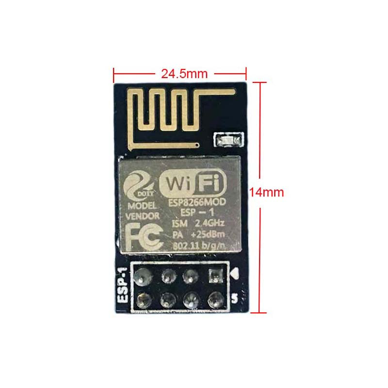 ESP8266 ESP-1 Serial Wireless WiFi Transmission Module Fully Compatible with ESP8266