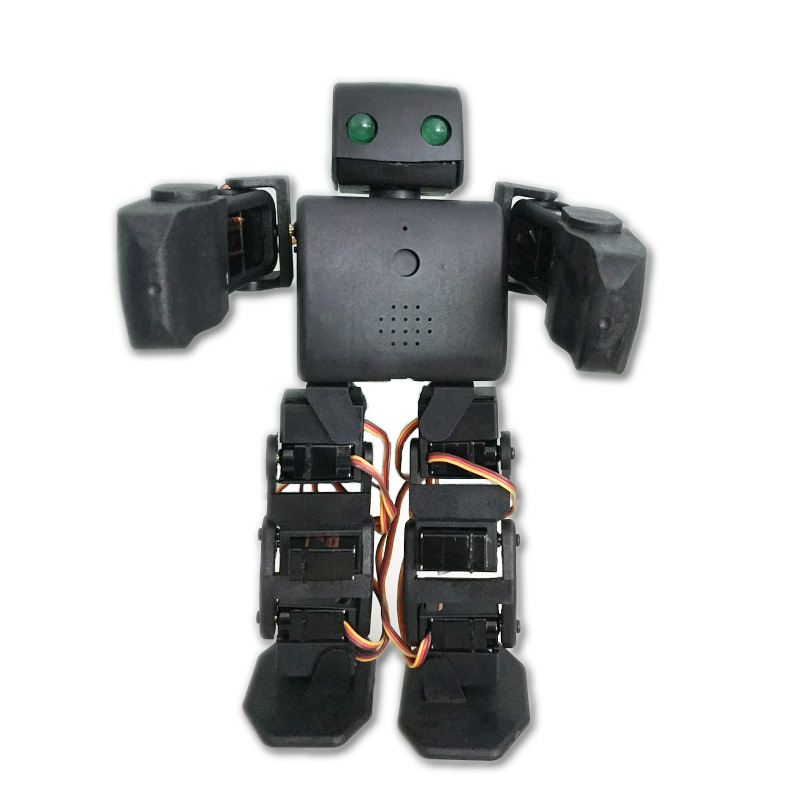 DOIT ViVi 18Dof Biped Humanoid Robot Plen2 Compatible with Arduino 3D Printer Open Source for DIY Robot Project Graduation Model