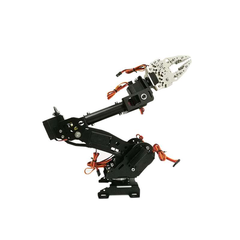 DoArm S7 7 Dof Stainless Steel Metal Robotic Manipulator/ ABB Arm Model with 7pcs MG996r High Torque Servos, WiFi Control Kit