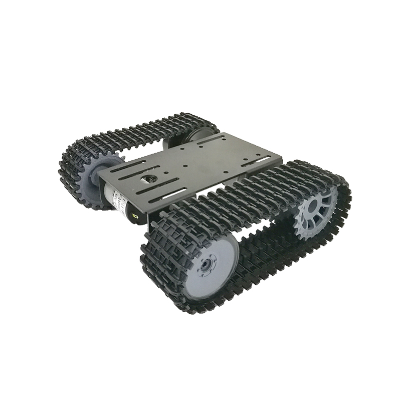 2018 New mini TP101 Smart Tank Chassis Tracked Chassis Remote Control Platform with Dual DC Motor for DIY Arduino Graduation