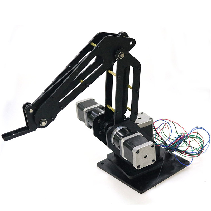3dof Industrial Robotic arm Manipulator Robot Arm 3 Axis with Full Metal Frame for Writing, Laser engraving, 3D Printer