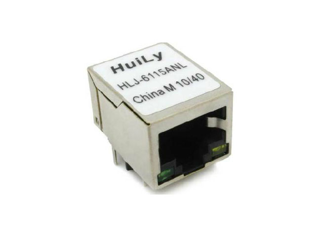 Anl HLJ - 6115 RJ45 Socket  Transformer with POE Function with LED Lamp Products