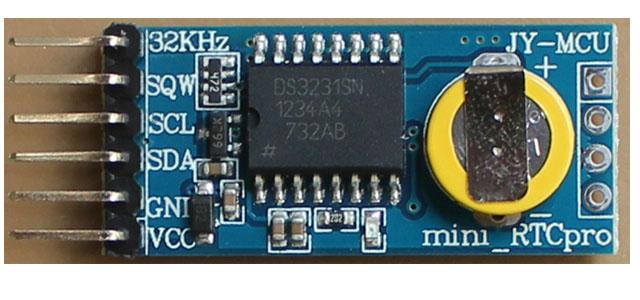 Mcu mini rtc pro ds arduino high precision clock