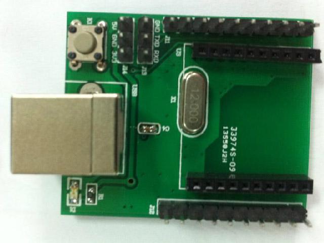 Cc zigbee development board wireless module content