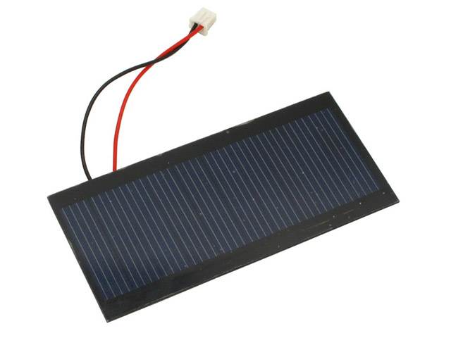 5V Single Crystal A-Class Solar Panel 100MA Efficient Specification 49.5*96.5mm