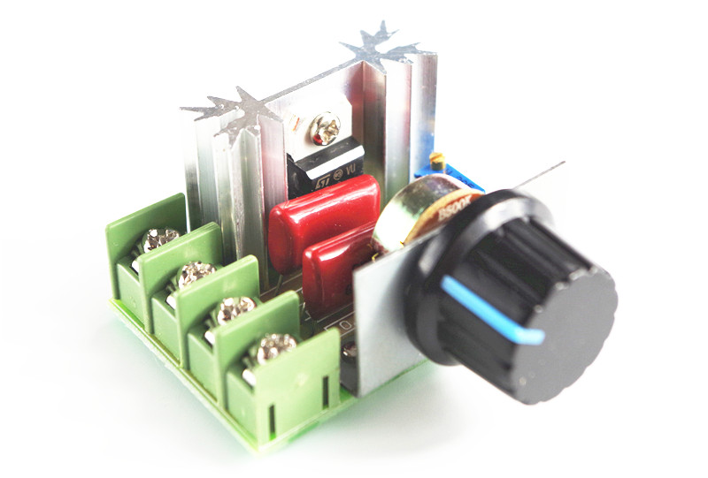 The import of 2000W silicon controlled power electronic regulator, dimming, speed, high temperature by version