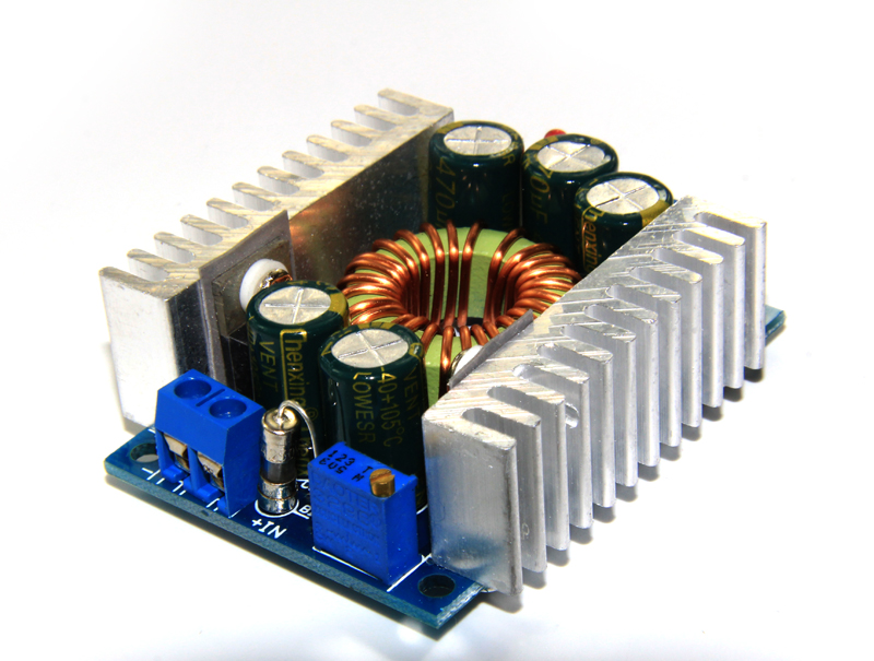 DC-DC high power low ripple 12A adjustable buck module 95% high efficiency vehicle power mode (C7A2)