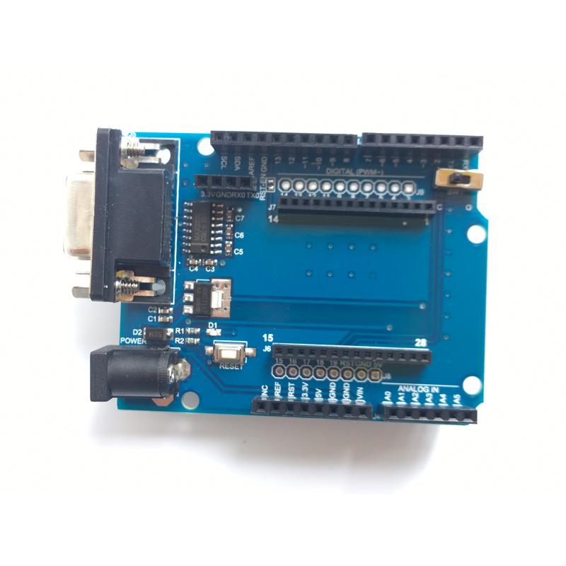 Arduino shield board in bluetooth zigbee wifi