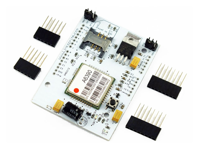 4 Frequency GSM GPRS Arduino Shield Insert Directly UNO R3 Wireless Communication