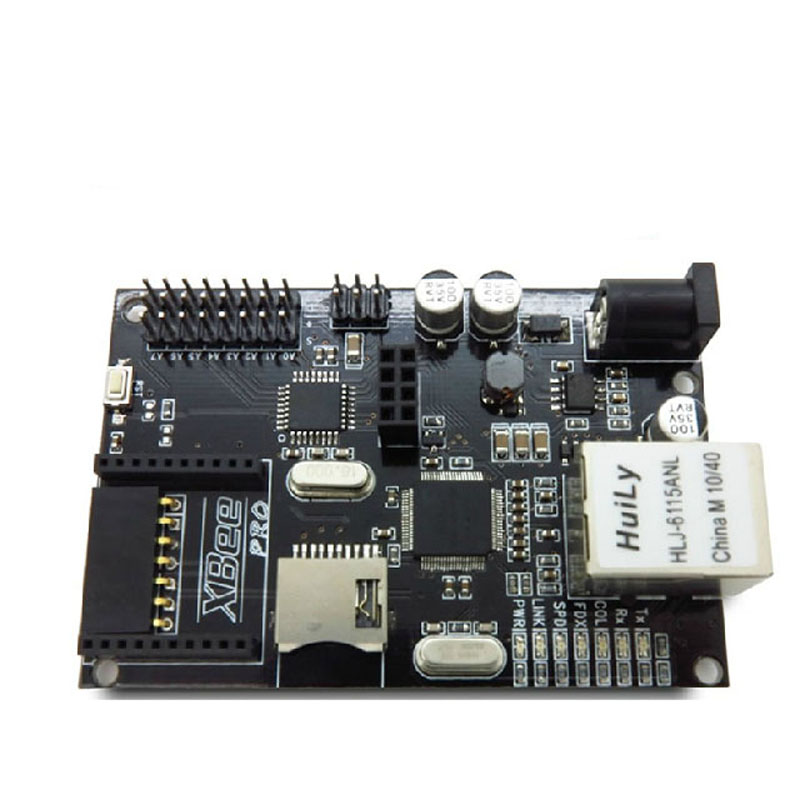 Arduino W5100 Ethernet Module Development Board POE Xbee Interface SD Card Slot Iboard