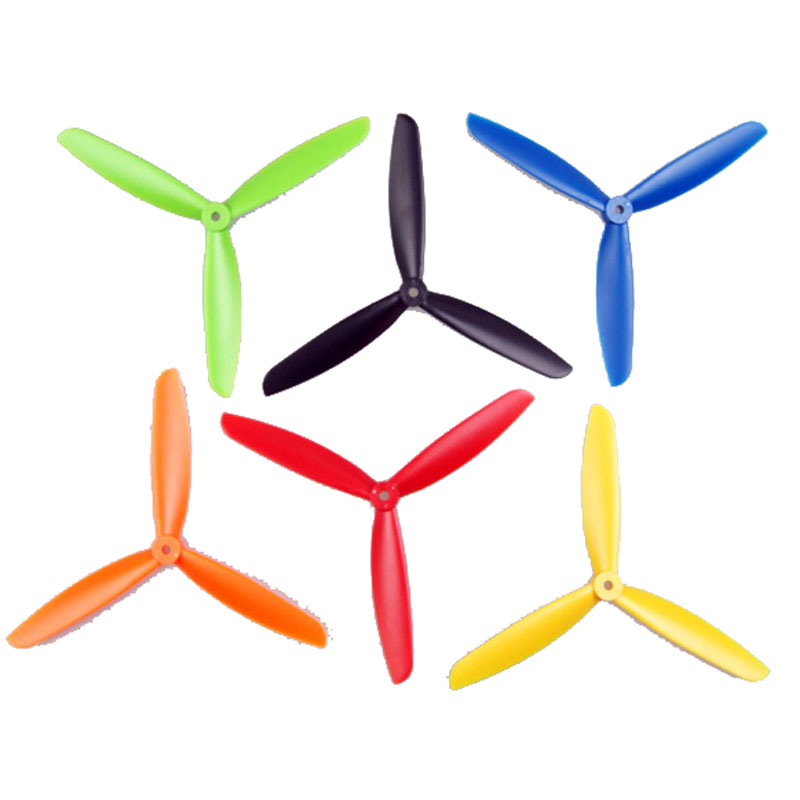 X240 Aircraft 5045 6045  Four Axis Three-Blade Propellers One Pair